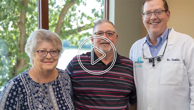 Dr. Trimble's work keeps our family coming back!